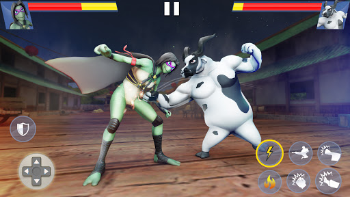 Kung Fu Animal Fighting Games: Wild Karate Fighter 1.0.10 screenshots 2