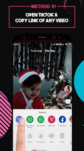 Video Downloader for TikTok - No Watermark Screenshot