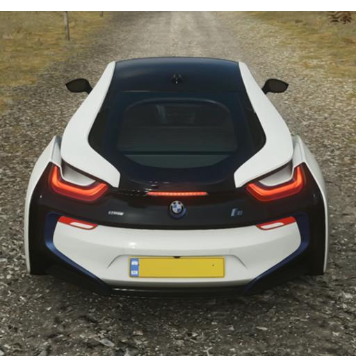 i8 Drift Simulator: Bilspil Racing 3D-City Drive