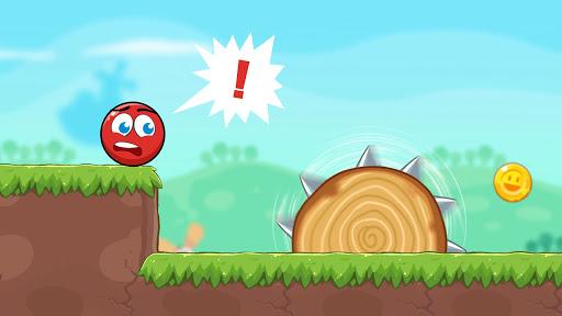 Red Bounce Ball Heroes  screenshots 6