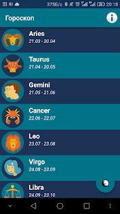 Daily horoscope 2020