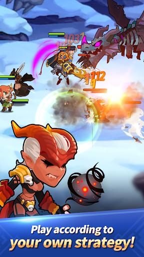 Dungeon Tactics : AFK Heroes apkdebit screenshots 4