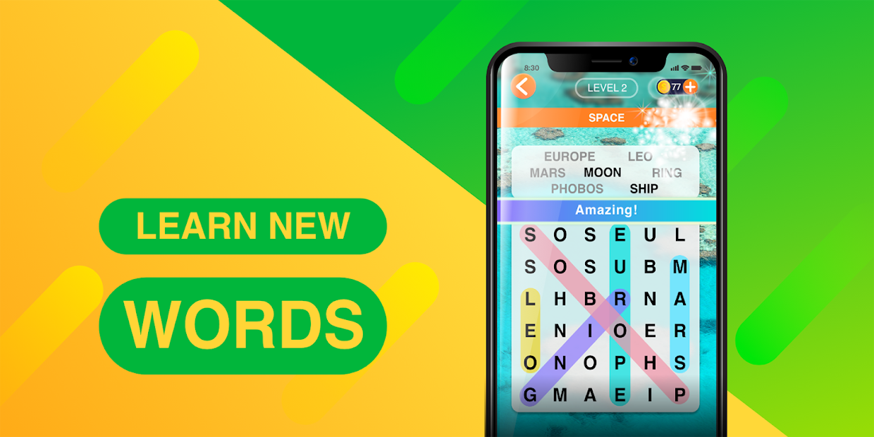 Word Search Journey – Free Word Puzzle Game