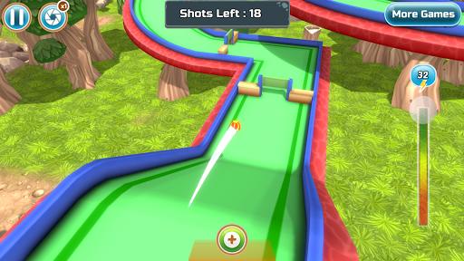 Mini Golf Rivals - Cartoon Forest Golf Stars Clash  screenshots 7