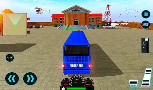 US Police Bus Mountain Driving Simulator  screenshots 7