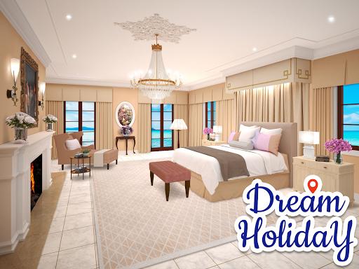 Dream Holiday - Travel home design game apkdebit screenshots 6