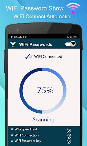 WiFi Password key Show - WiFi Analyzer  screenshots 2