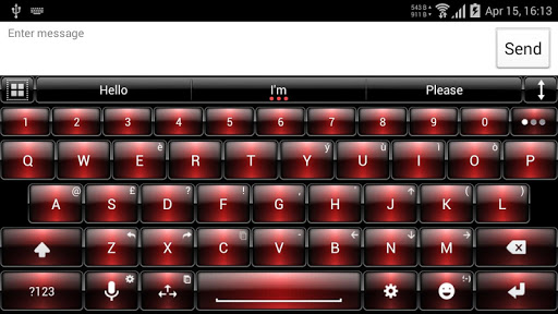 Theme for A.I.type Dusk Red א For PC Windows (7, 8, 10, 10X) & Mac Computer Image Number- 11