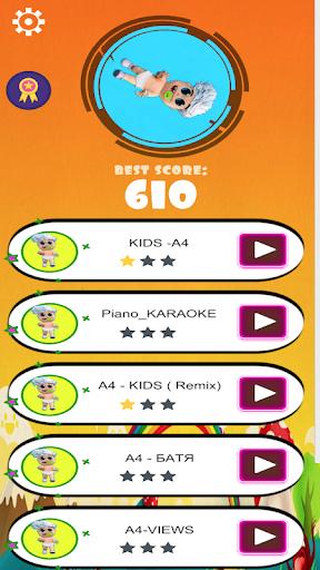Vlad bumaga A4-Kids Dancing Tiles Hop 1.0 Screenshots 1