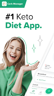 Carb Manager: Keto Diet Tracker & Fasting App 7.0.36 Screenshots 1