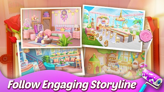 Matchington Mansion APK (MOD, Unlimited Coins) for Android 4