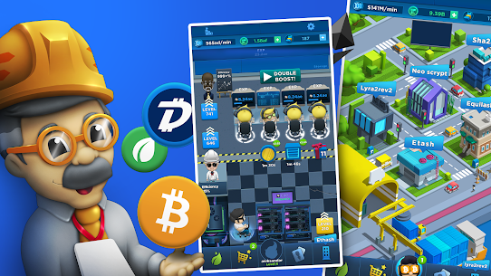 Crypto Idle Miner – Bitcoin Tycoon Mod Apk (Unlimited Money) 5