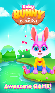Baby Bunny - The Cutest Pet Caring