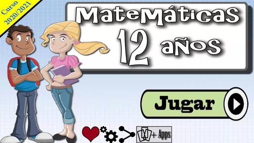 Matemu00e1ticas 12 au00f1os 1.0.20 screenshots 9