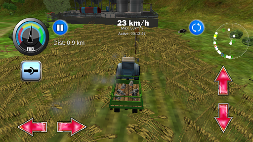 Tractor Farm Driving Simulator apkslow screenshots 1