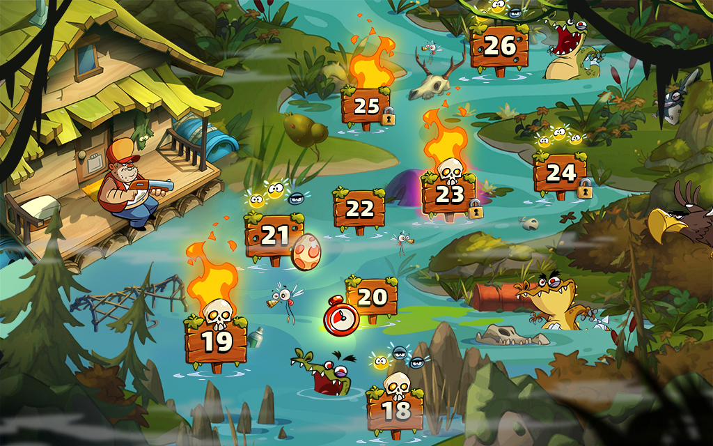 Swamp Attack 2 MOD poster 10