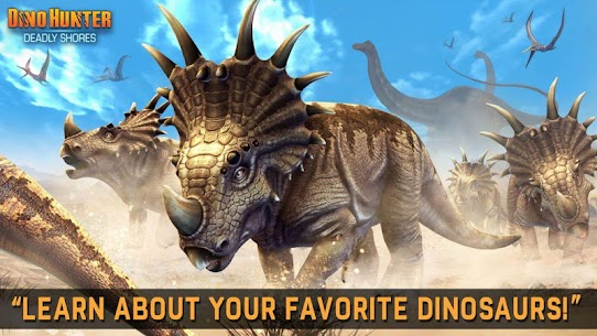 Dino Hunter MOD APK [Unlimited Money/Energy/Coins/Unlocked] 4