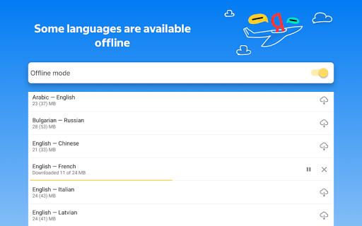 Yandex.Translate u2013 offline translator & dictionary modavailable screenshots 19