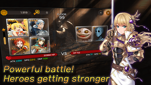 Secret Tower VIP (Super fast growing idle RPG) android2mod screenshots 2