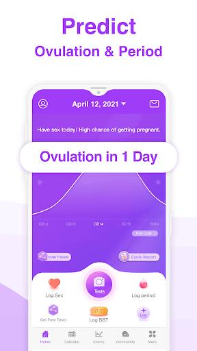 Premom Ovulation App. Fertility & Period Tracker apktram screenshots 3