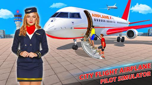 Airplane Pilot Flight Simulator New Airplane Games  Screenshots 1