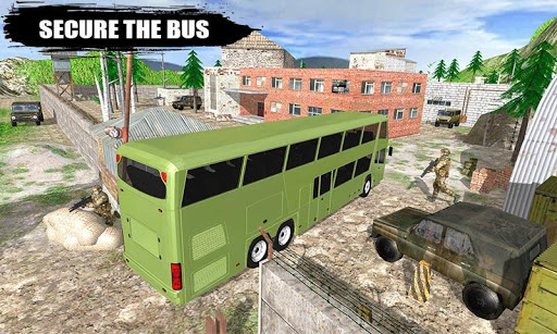 Offroad New Army Bus Game 2019  screenshots 1