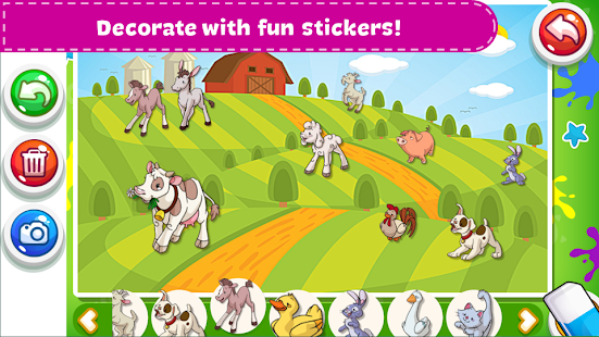 Coloring Book - Kids Paint Screenshot