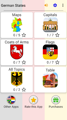 German States - Flags, Capitals and Map of Germany apkpoly screenshots 3