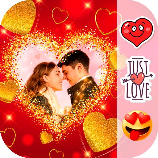 Baixar Love Photo Frames ❤️ para Android