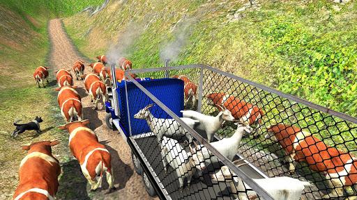 Offroad Farm Animal Truck Driving Game 2020 1.9 Screenshots 9