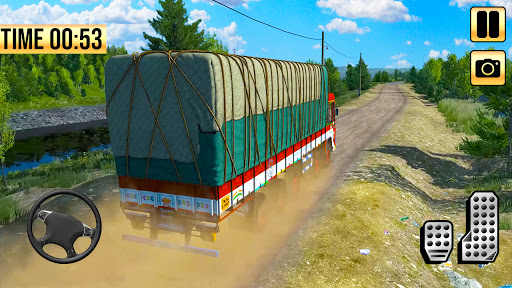 Indian Truck Simulator 2021: New Lorry Truck Games apkpoly screenshots 10