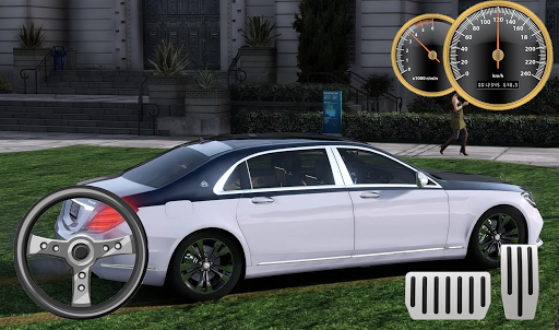 car driving mercedes maybach parking screenshot 3
