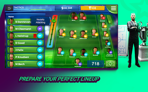 Pro 11 - Football Management Game 1.0.74 Screenshots 7