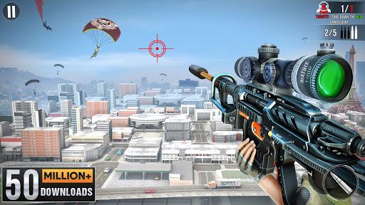 New Sniper Shooter: Free Offline 3D Shooting Games  Paidproapk.com 1