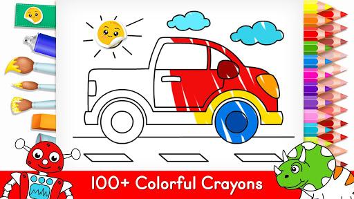 Coloring Games for Kids -Tashi apkpoly screenshots 7