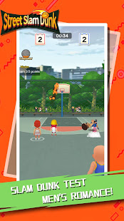 Street Slam Dunk:3on3 Basketball Game