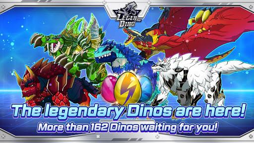 Legendino: Dinosaur Battle Varies with device screenshots 5