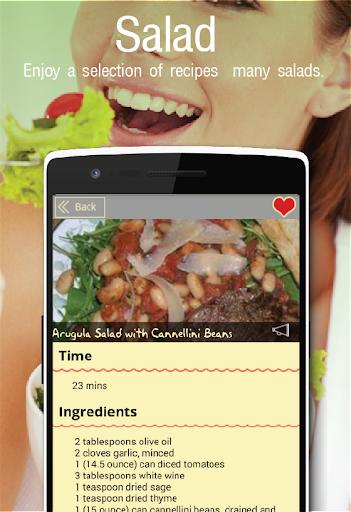 Foto do 1000+Salad Recipes FREE APP