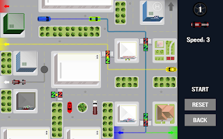 Traffic Control Puzzle - City Driving