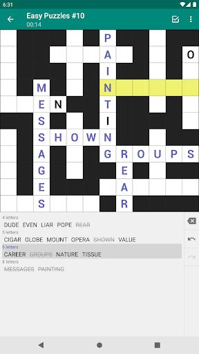 Fill-In Crosswords 3.07 screenshots 9