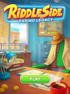 Riddleside: Fading Legacy - Detective match 3 game Screenshot