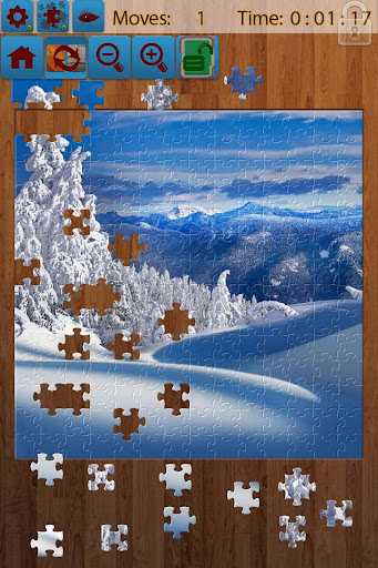 Snow Landscape Jigsaw Puzzles screenshots 1
