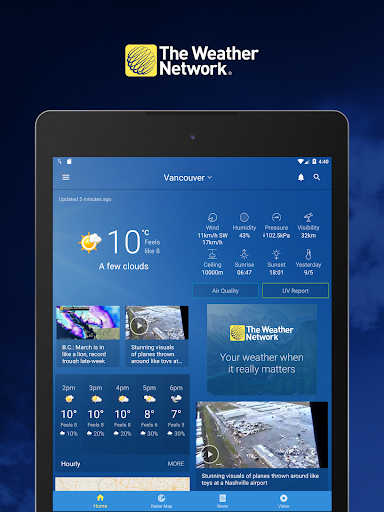 The Weather Network: Local Forecasts & Radar Maps screenshots 8