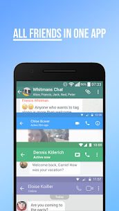 Messenger Plus for Social Media, Messages, Feed 5