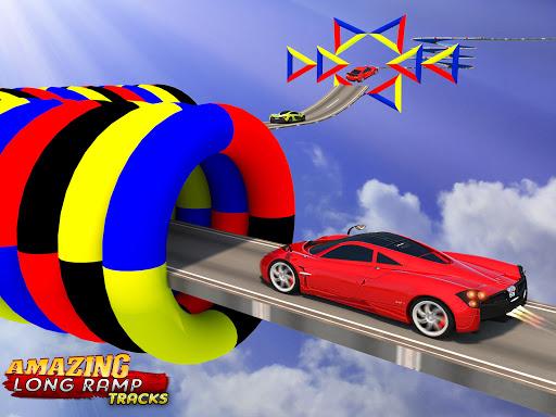 Extreme Car Driving - GT Racing Car Stunts Race 3D 1.0 screenshots 8