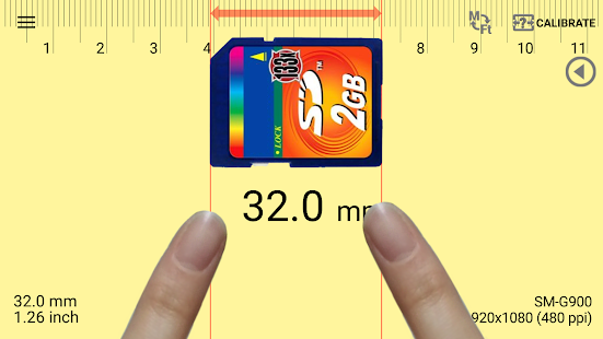 Smart Ruler Pro Screenshot
