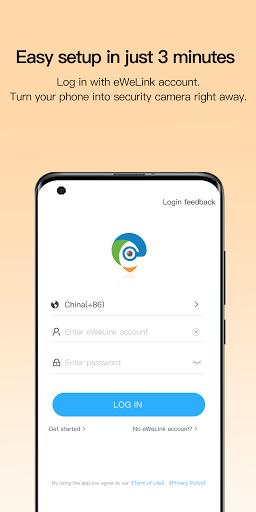 eWeLink Camera -Home Security, Pet & Baby Monitor  screenshots 2