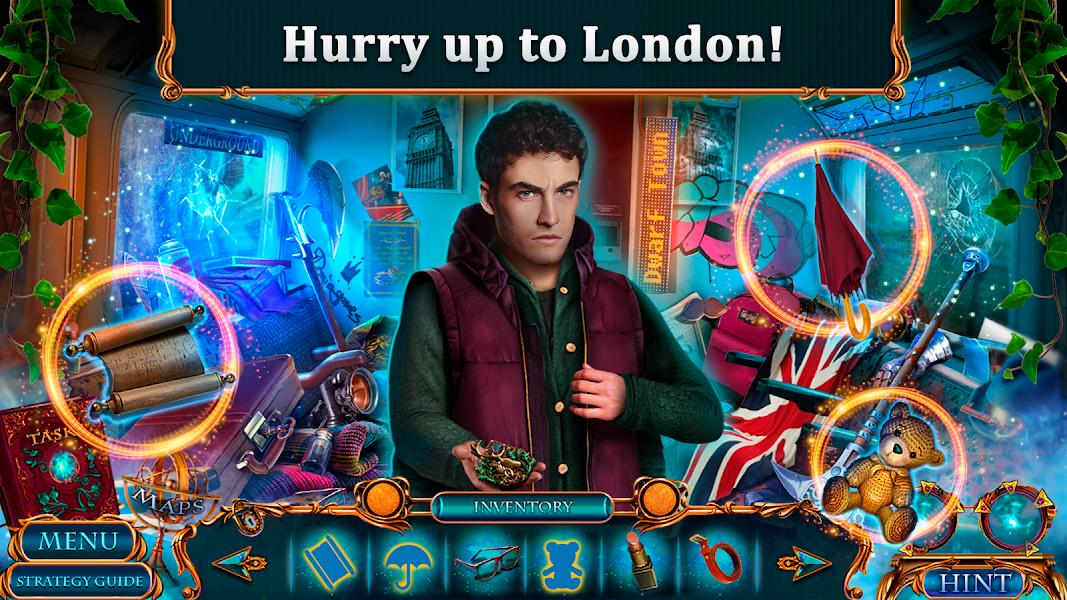 Hidden Objects - Secret City: London Calling