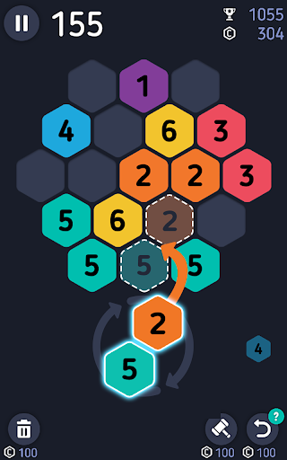 Make7! Hexa Puzzle  screenshots 7