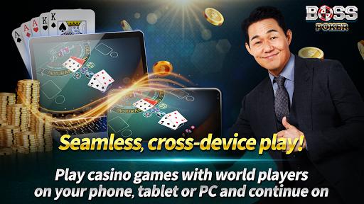 Boss Poker – Texas Holdem Blackjack Baccarat  screenshots 2